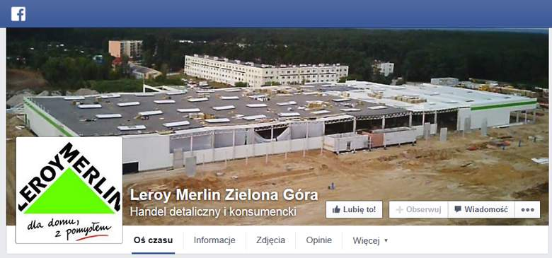 Leroy Merlin na facebooku