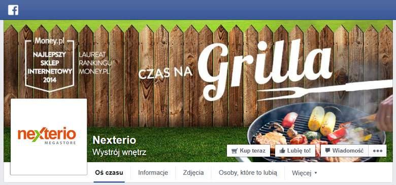 Nexterio na facebooku