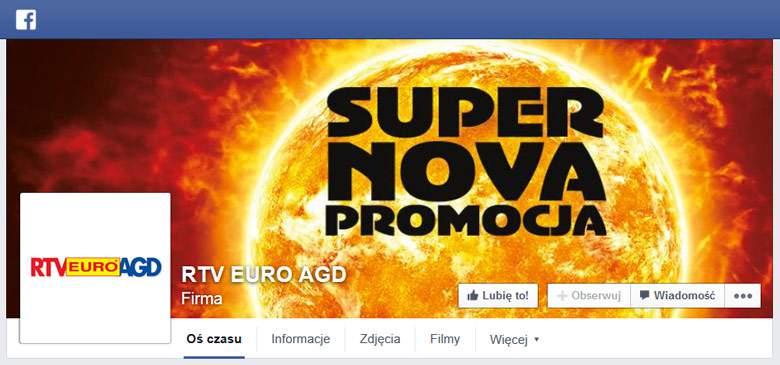 rtv euro agd na facebooku