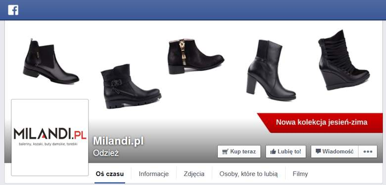 Milandi na Facebooku