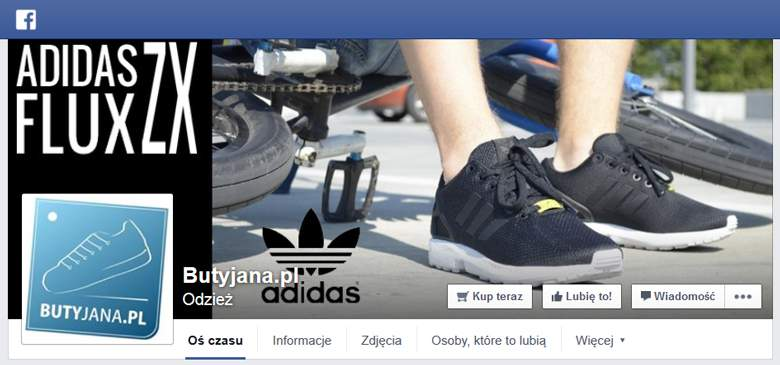 Buty Jana na Facebooku