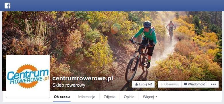 Centrum Rowerowe na facebooku