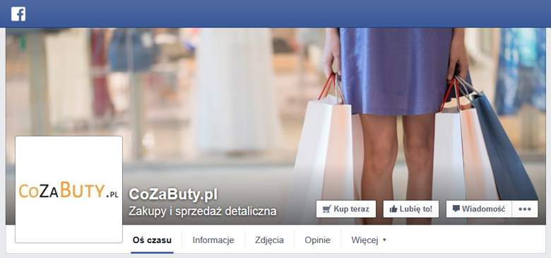 Co za buty na facebooku