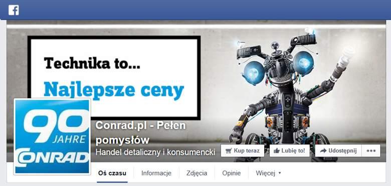 Conrad na facebooku