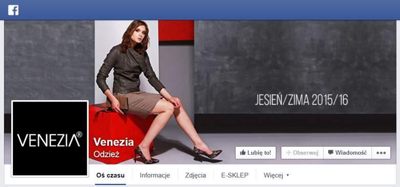 Venezia na Facebooku