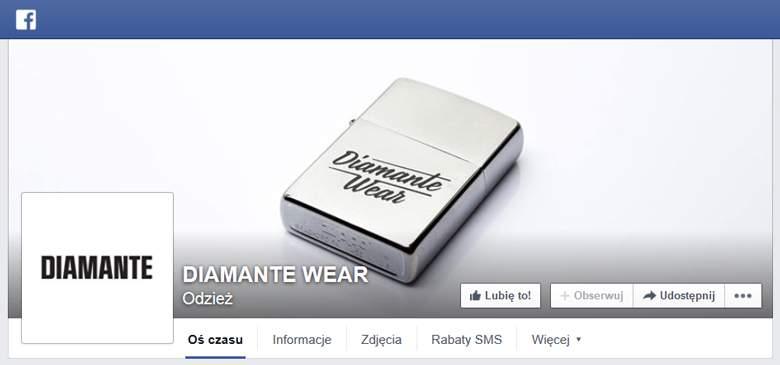 Diamante Wear na Facebooku