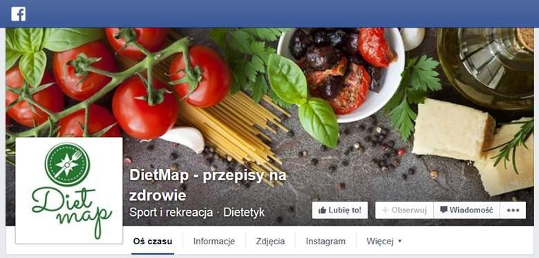 DietMap na Facebooku