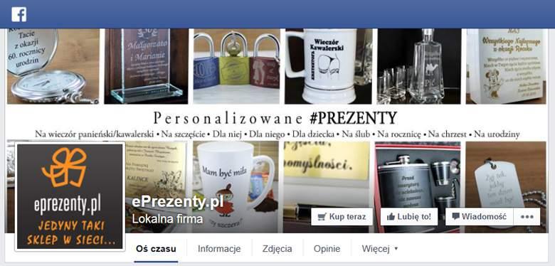 ePrezenty na Facebooku
