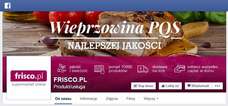 Frisco na Facebook