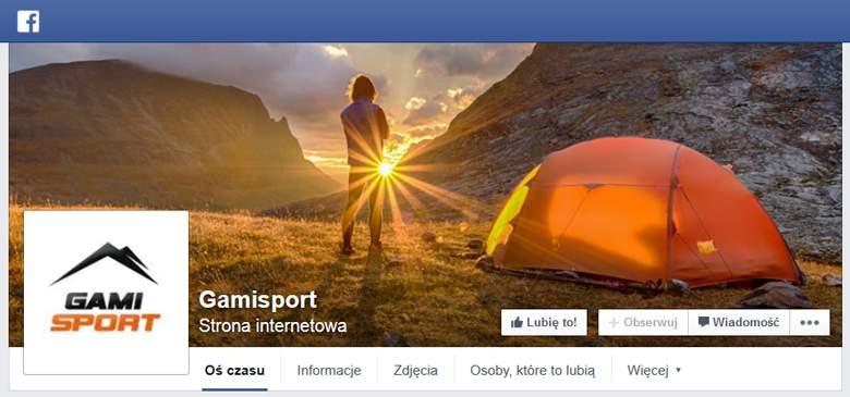 GamiSport na Facebooku