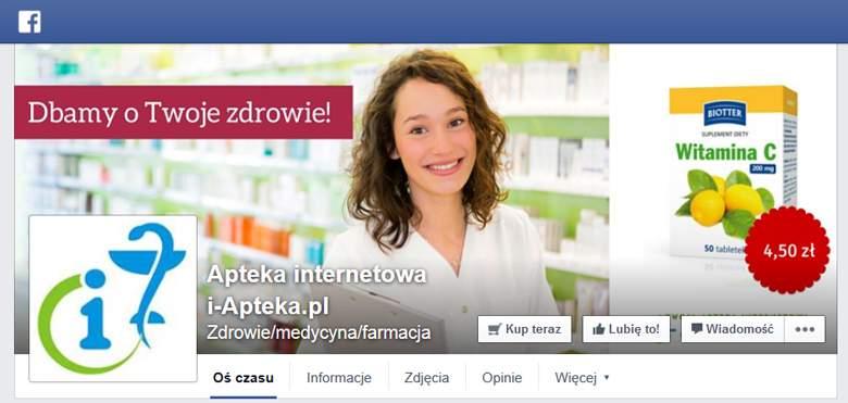 i-Apteka na facebooku