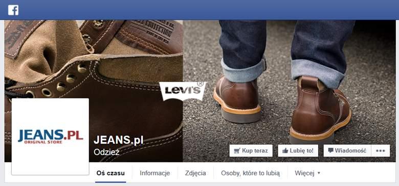 Jeans.pl na Facebooku