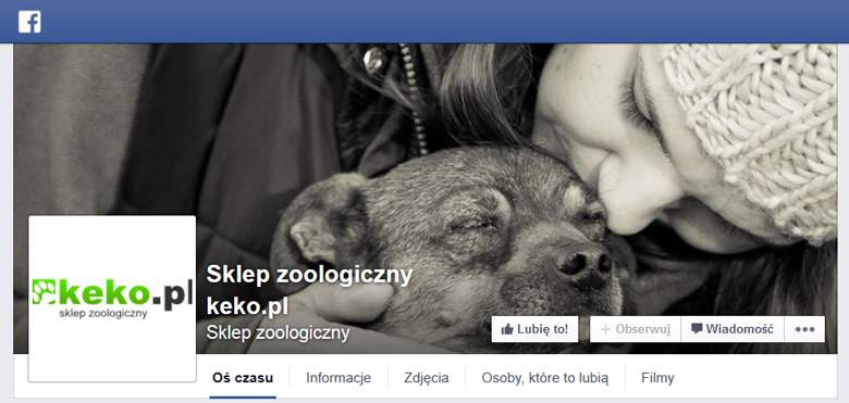 Keko na facebooku