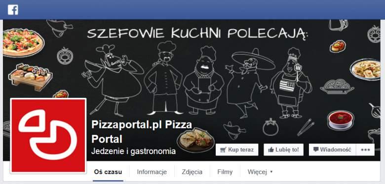 PizzaPortal na Facebooku