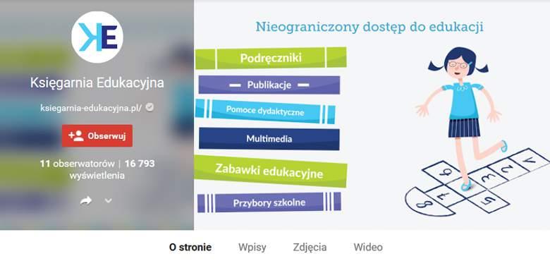 Księgarnia Edukacyjna w Google+