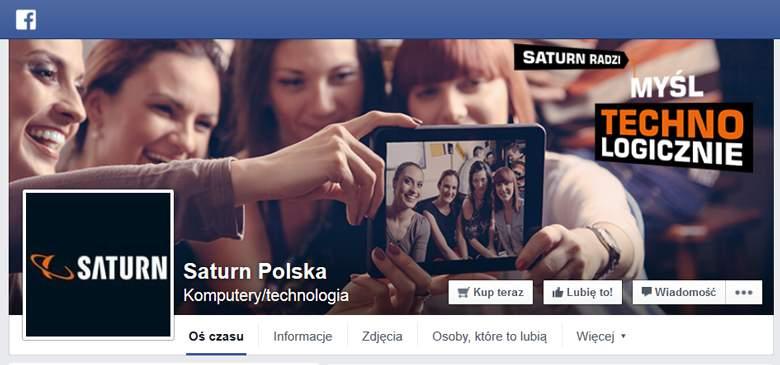 Saturn na facebooku