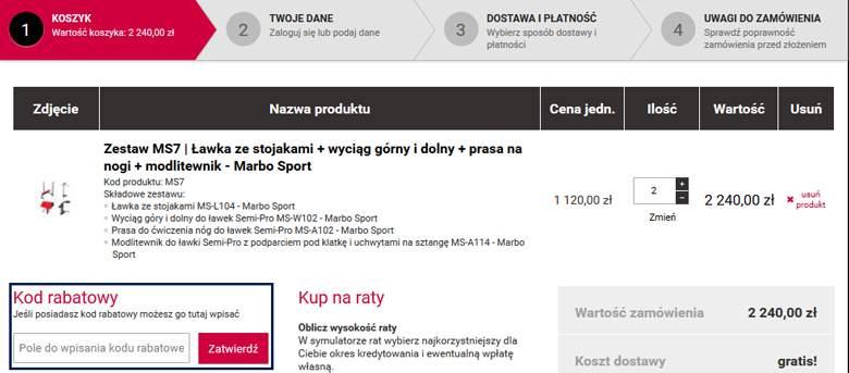 Marabo-Sport Koszyk