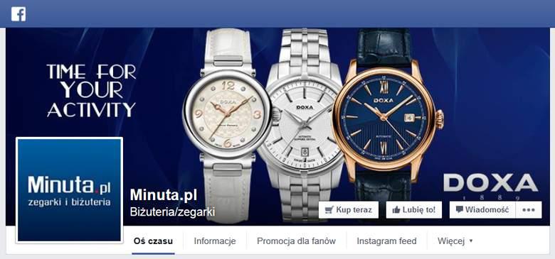 Minuta.pl na Facebooku