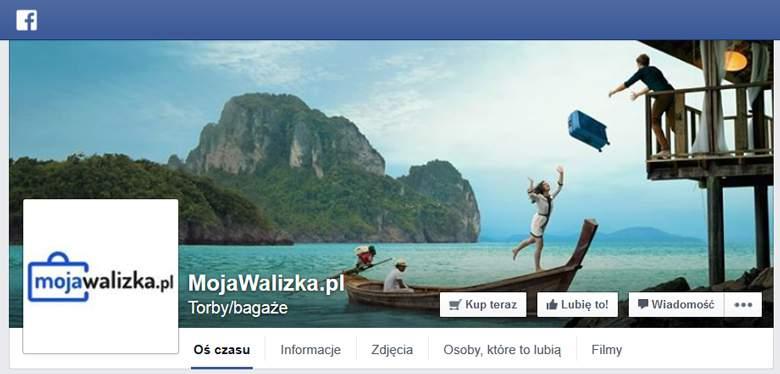Moja Walizka na Facebooku