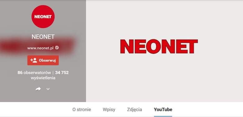 Neonet na Google Plus