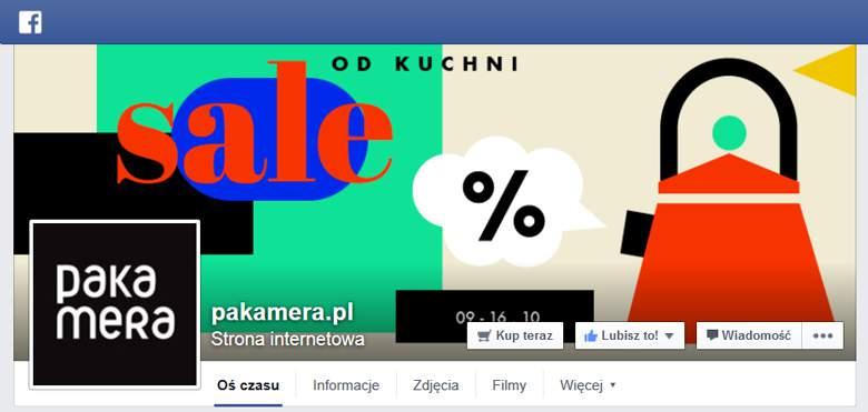 Pakamera na facebooku