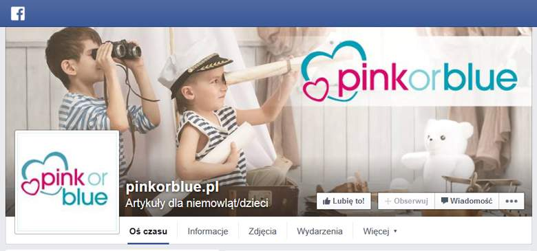 Pink or Blue na facebooku