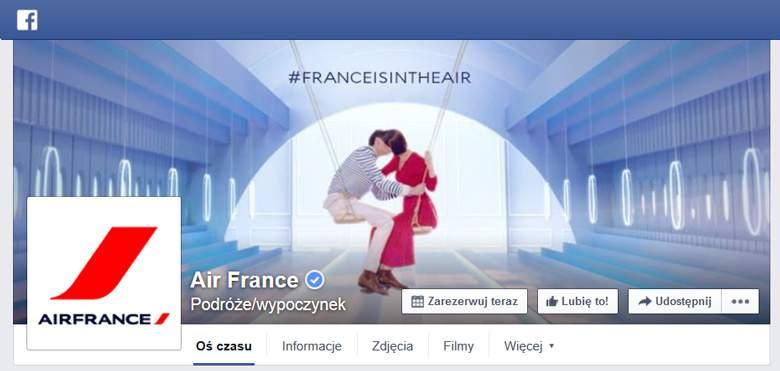 Air France na Facebooku