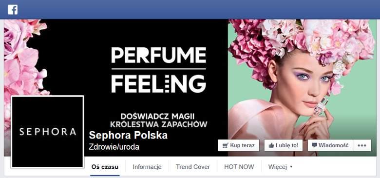 Sephora na facebooku