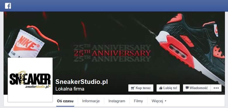 Sneakerstudio na facebooku