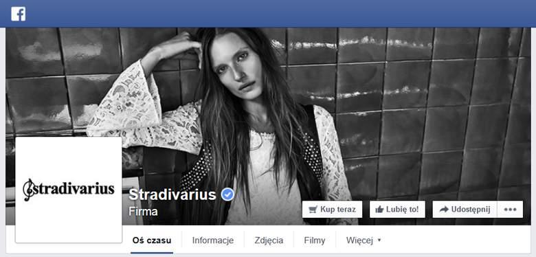 Stradivarius na Facebooku