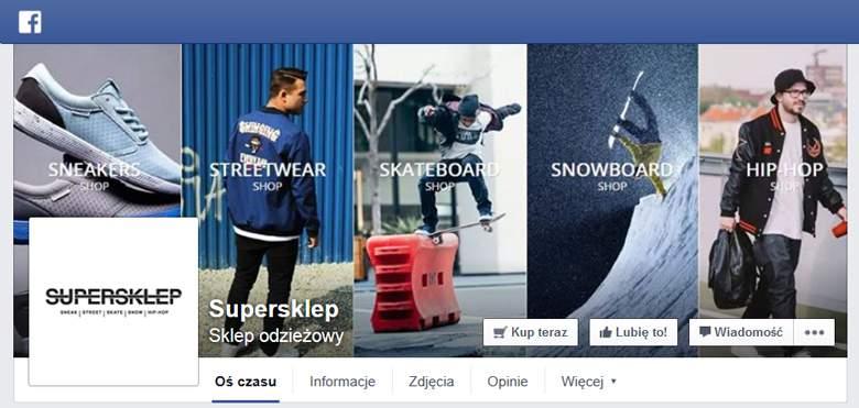SuperSklep na Facebooku