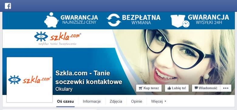 Szkla.com na Facebooku