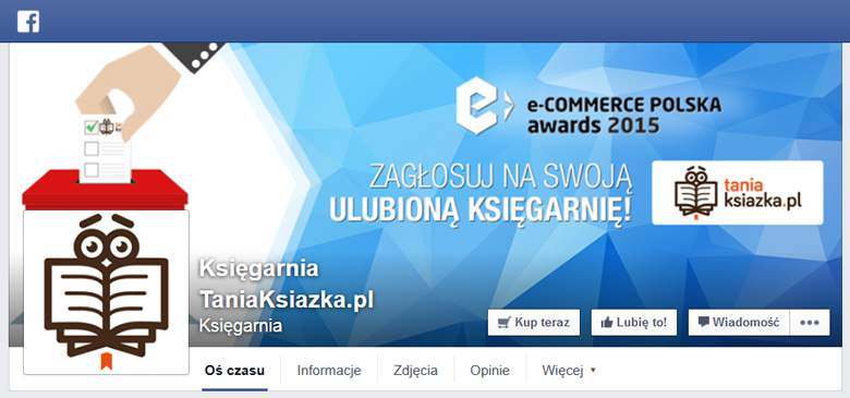 Tania Książka na Facebooku