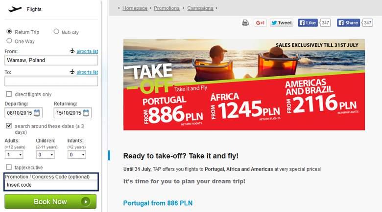 Oferta TAP Portugal