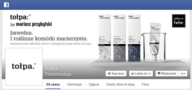 Tołpa na Facebooku