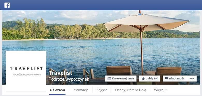 Travelist na facebooku
