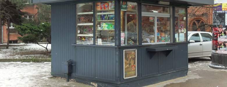 Kiosk, w którym można zakupić starter Virgin Mobie