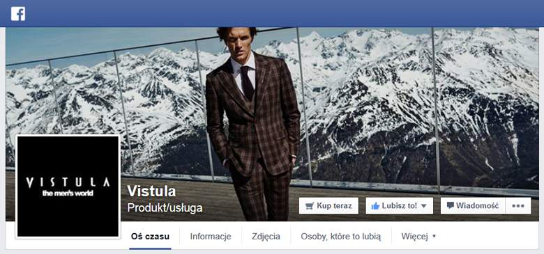 Vistula na Facebooku