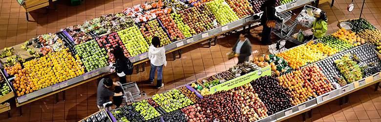 Warzywa i owoce z oferty Auchan