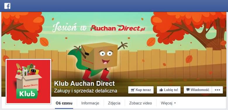 Auchan na Facebooku