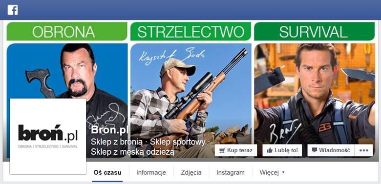 broń.pl na Facebooku