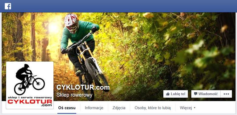 Cyklotur na Facebooku