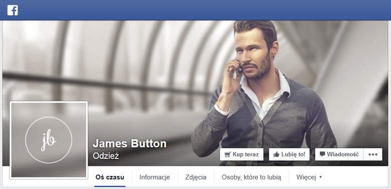 James Button na Facebooku