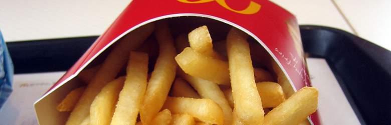 Frytki z oferty McDonalds