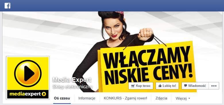 Media Expert na Facebooku