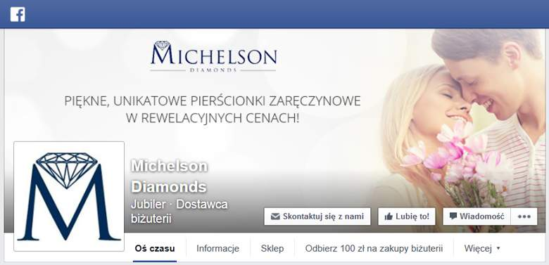 Michelson Diamonds na Facebooku