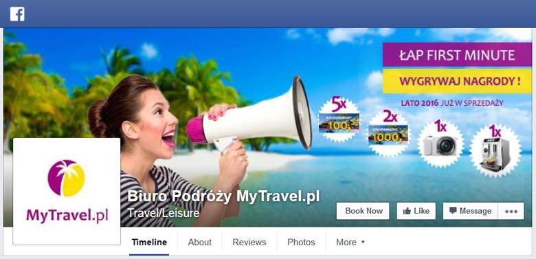 My Travel na facebooku