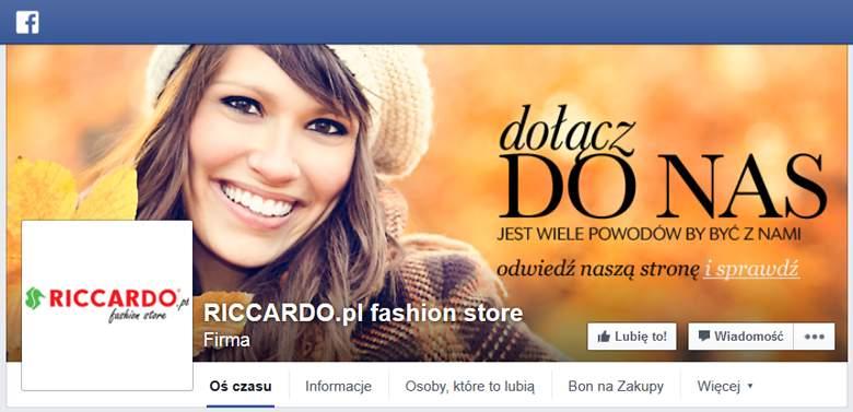 Riccardo na Facebooku