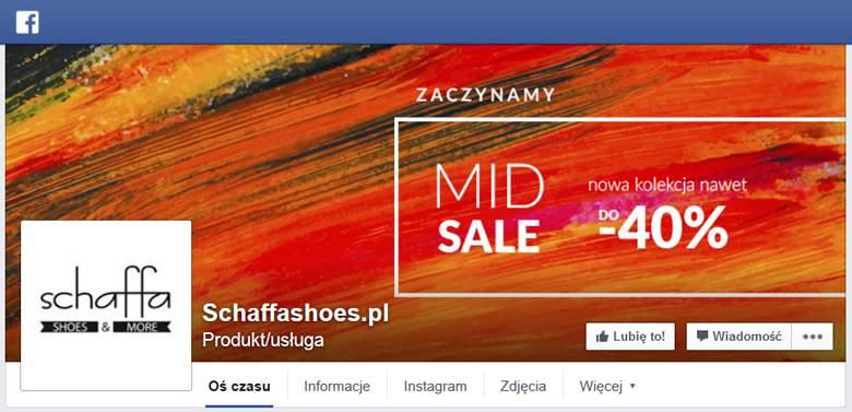 Schaffashoes na Facebooku