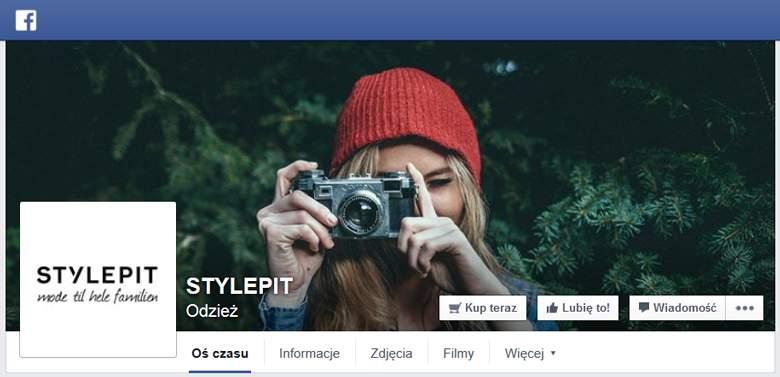 StylePit na Facebooku